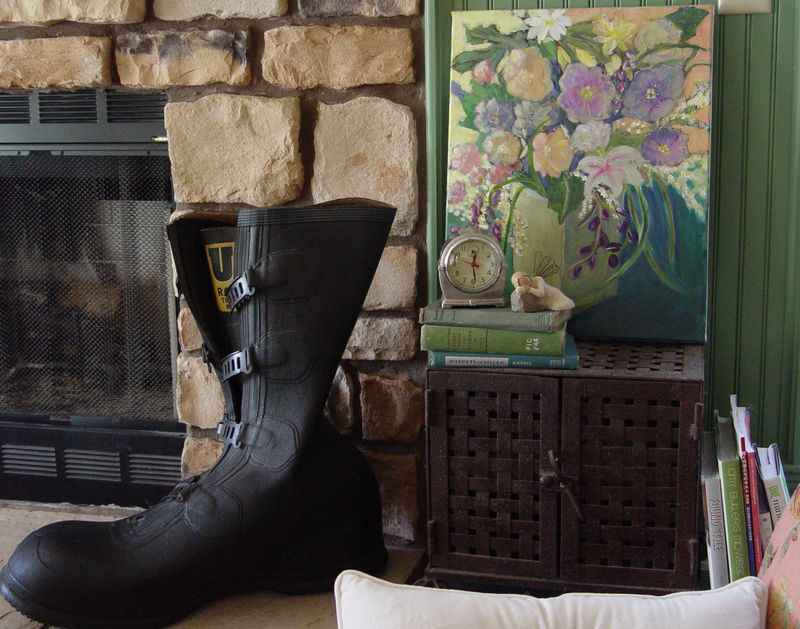 Boot & painting