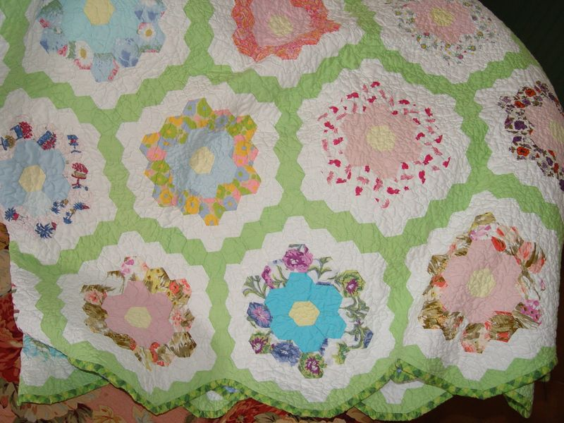 Quilts gma flower