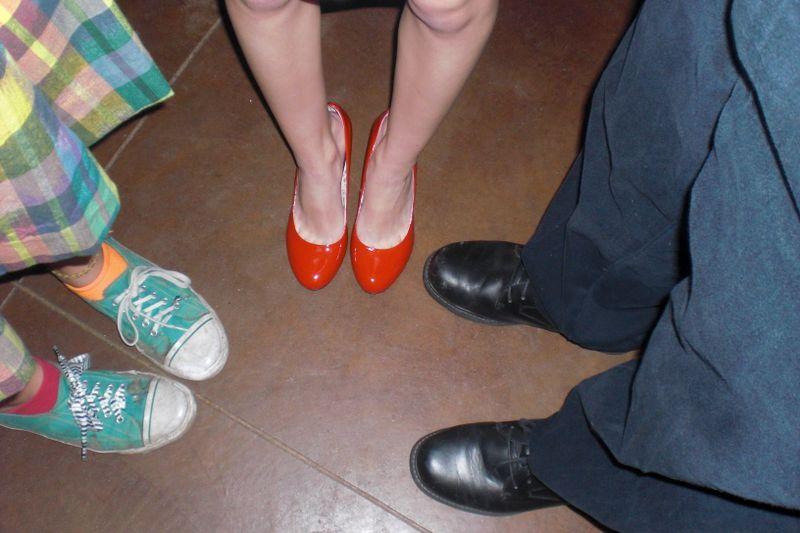 Homecoming feet