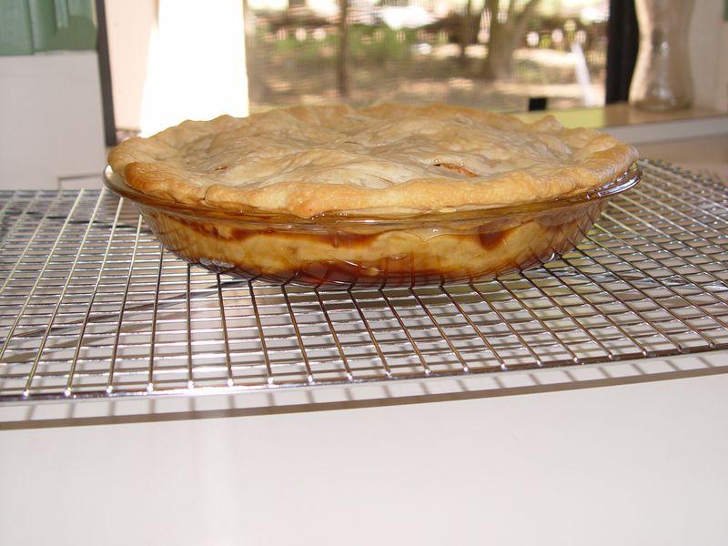 Pie before