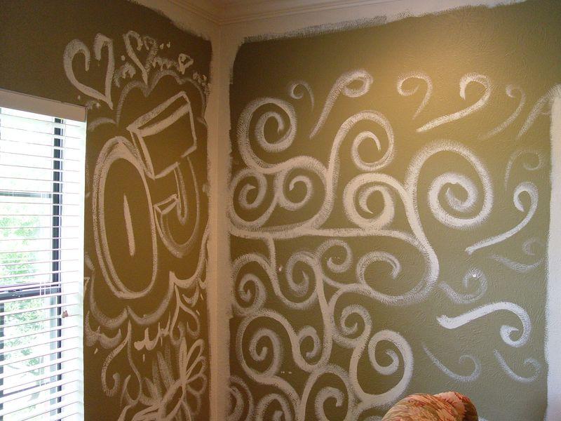Graffitti wall OJ