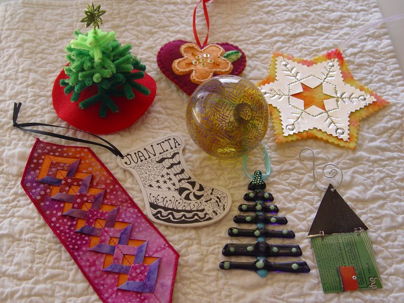 Ornament swap 2010